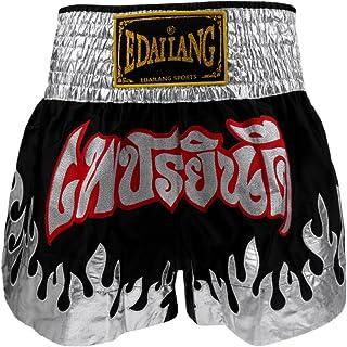 Color Blanco Wicked One dise/ño de Dragon Thai Pantalones Cortos para Hombre