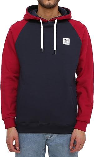 Iriedaily - Sweat-Shirt - Homme Rouge Rouge foncé