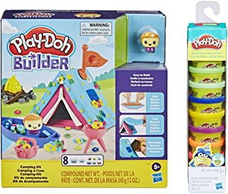 Play Doh Builder Camping Kit + Play Doh Party Pack