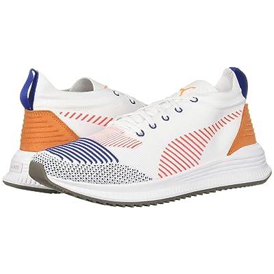 PUMA Avid Nu Knit (Puma White/Red Blast) Shoes