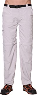 Trailside Supply Co. Men's Convertible Trail Pants Fishing Lightweight Trousers