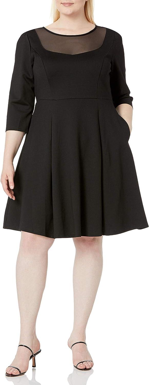 City Chic Women's Apparel Women's Plus Size Dress Cute Mesh