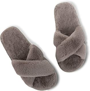 Women's Cross Band House Bedroom Slippers Soft Home Outdoor Sandals