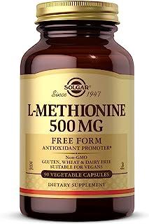 Solgar L-Methionine Vegicaps 500 mg, 90 Capsules