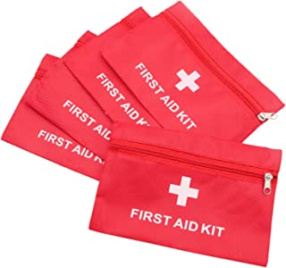 omeat 5 pcs Empty First Aid Pouch Bag Kit Bag Medical Emergency Survival Outdoor Pouch