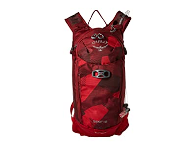 Osprey Siskin 12 (Molten Red) Backpack Bags
