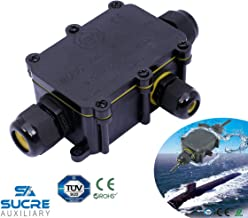 M8 //étanche IP68/Compression M8/M12/M16/M20/M24/M24/Noir ou blanc Noir Sucre auxiliaire/® presse-/étoupes/ 1