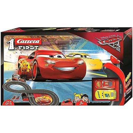 Carrera First - Disney Pixar Cars Circuito de Coches de Dinoco Cruz Ramirez, Pista de 2.4m