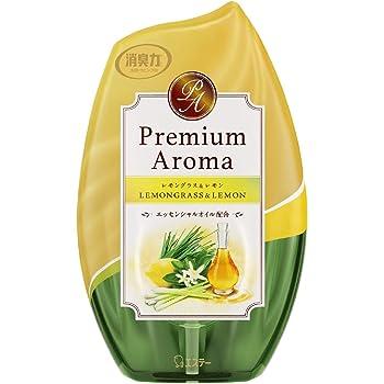 お部屋の消臭力 Premium Aroma プレミアムアロマ 消臭芳香剤 玄関・部屋用 レモングラス&レモン 400mL