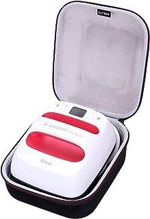 LTGEM EVA Hard Case for Cricut EasyPress 2, 6x7 Inches - Travel Protective Carrying Storage Bag