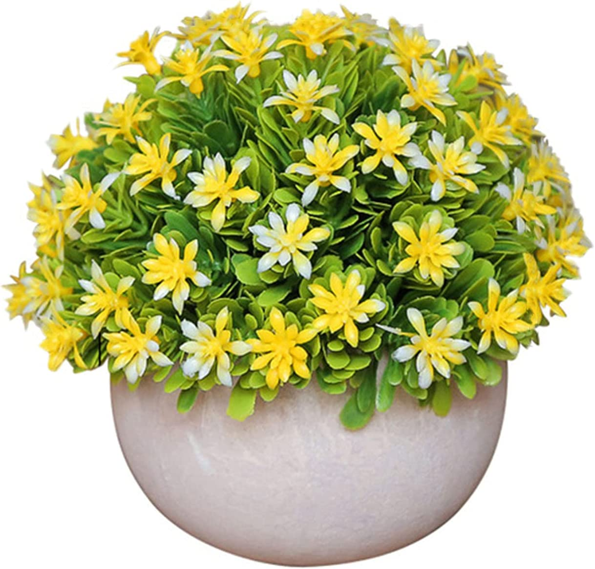 Dysetcs Popular standard 2 Packs Artificial Mini Potted Colorful Flo Max 56% OFF Flowers