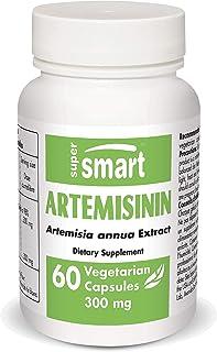 Supersmart - Artemisinin 300 mg - Artemisia Annua Standardized to 98% Artemisinin - Boost Immune System | Non-GMO & Gluten...