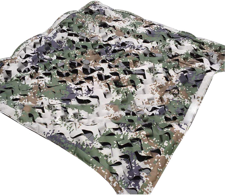 Qjifangwzh Tarnungs-Netze, Versteckter dekorativer kampierender Deckel für Jagd im Freien, DREI Gren