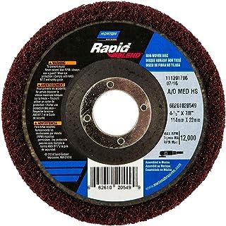 Standard Abrasives A//O Unitized Wheel 882141 821 3 in x 1//2 in x 3//8 in 10 per case 3M