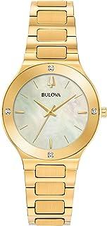Bulova - Reloj Analógico para Mujer de Cuarzo con Correa en Acero Inoxidable 97R102