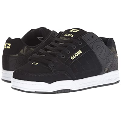 Globe Tilt (Black/Camo Knit/Slime) Men