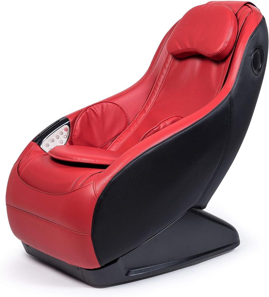 Guru® poltrona massaggiante shiatsu 2d ,sedia massaggiante con sistema bluetooth e usb 2020 P