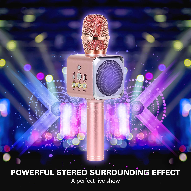 Bluetooth Karaoke Mikrofon Xpassion tragbare drahtlose dynamisches ...