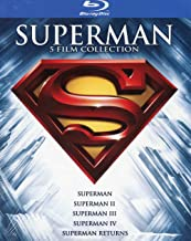 superman anthology (standard edition) (5 blu-ray) box set Blu-ray Italian Import