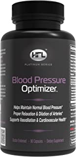 Blood Pressure Optimizer™ by Dr Sam Robbins | Supports Healthy Blood Pressure Levels | Promotes Arterial Health | Blood Vessel Support | Relaxation & Dialation of Vascular Walls | Heart Health | Conta