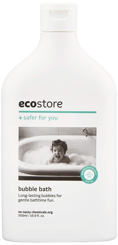 認証表現電極ecostore(エコストア) バブルバス 【ラベンダー&ゼラニウム】 500ml ベビー 赤ちゃん用 入浴剤 泡風呂