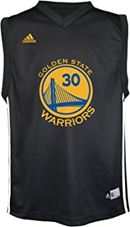 Stephen Curry Golden State Warriors Black Youth Replica Jersey (Large)
