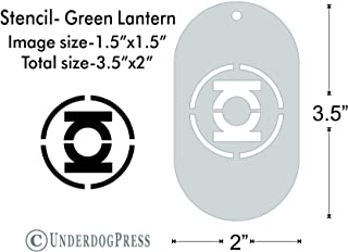 green lantern stencil
