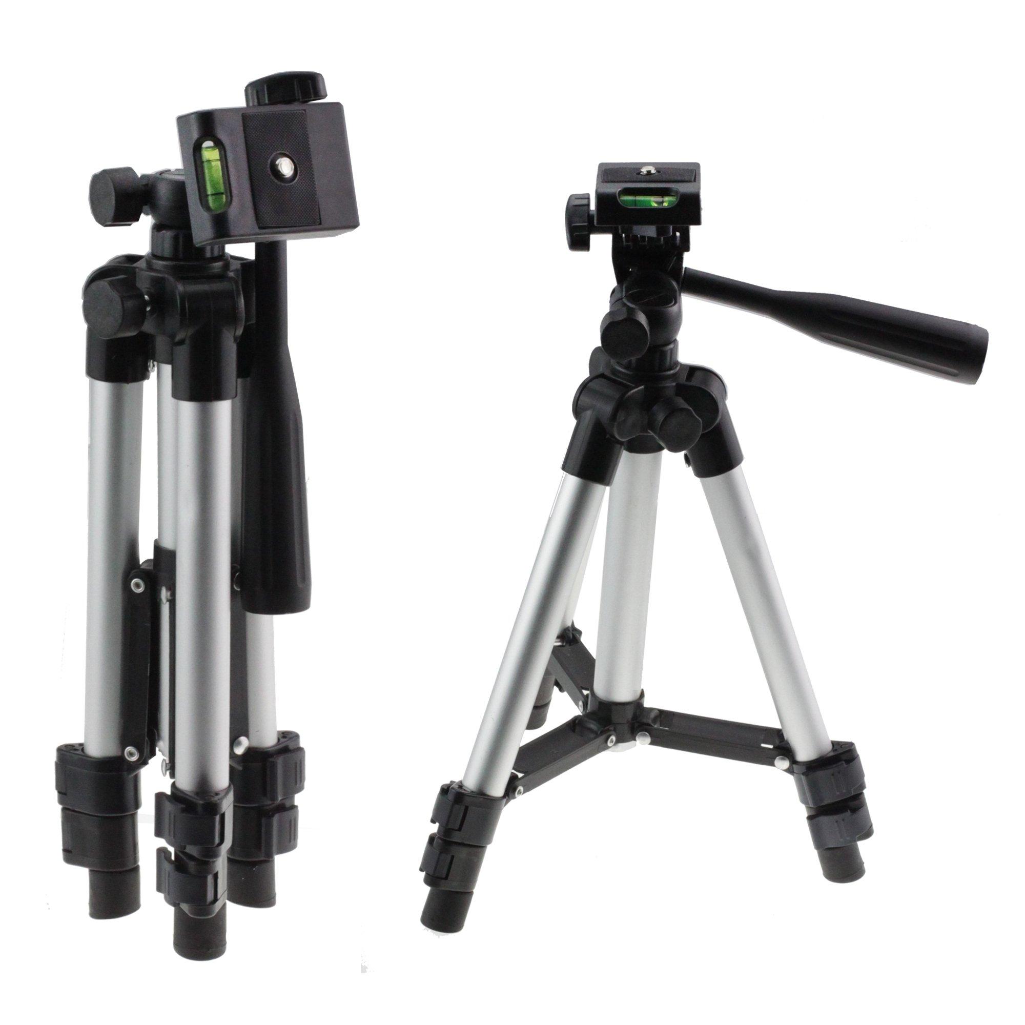 Navitech Lightweight Aluminium Video Camcorder Tripod Compatible with The Panasonic Premium 4k HC-VXF1//11