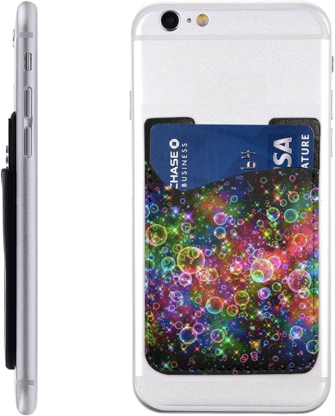 Dreamy Colors El Animer and price revision Paso Mall Phone Card Holder Cell Wallet Stick On