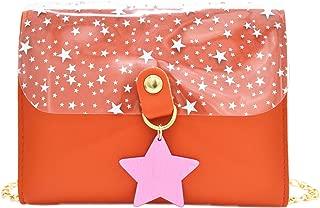 Aelidiya Star Transparent Chain Messenger Bag Shoulder Purses Crossbody Bag