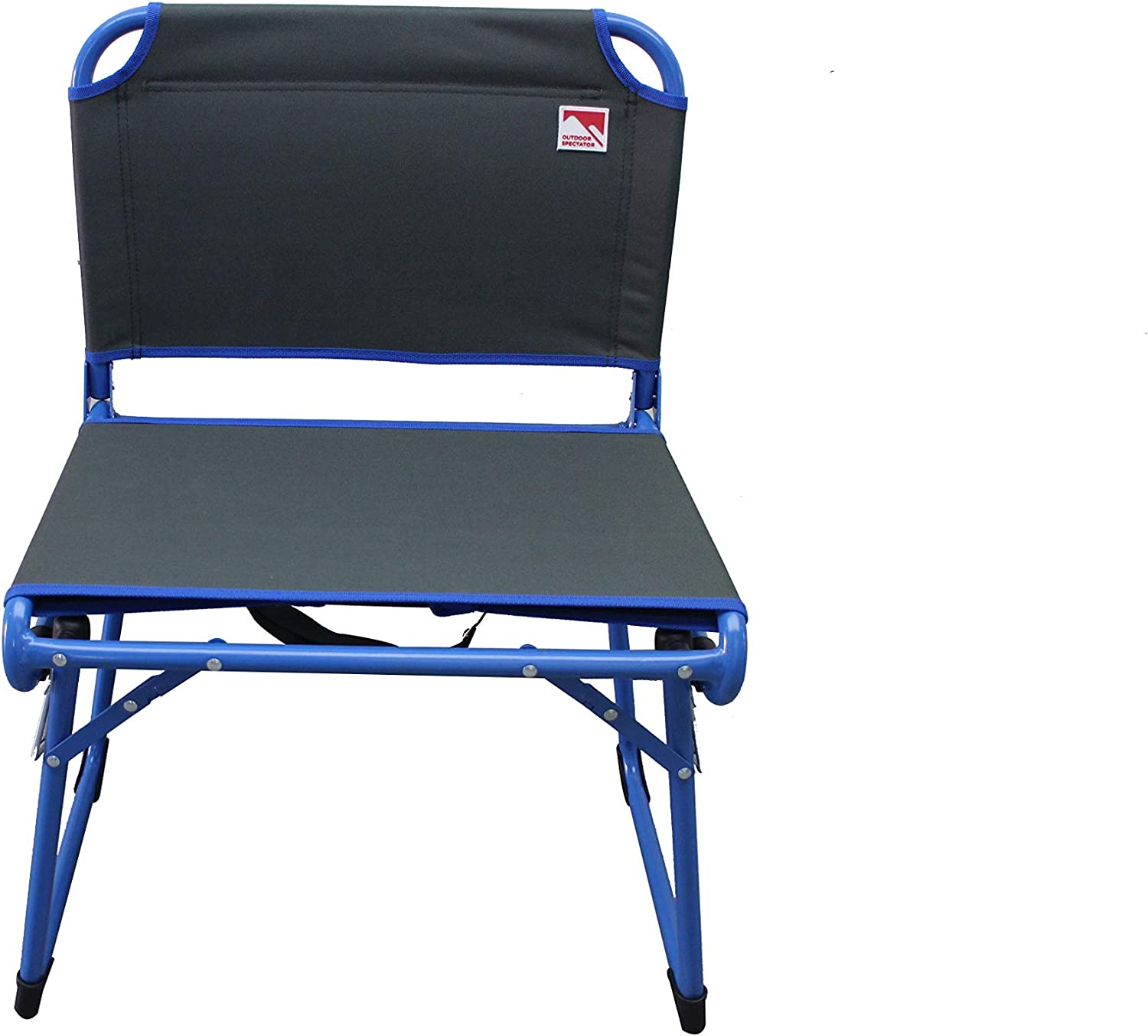 Outdoor Spectator Fold & Go Wide Stadium Seat for Bleachers Congreenible Low Profile Camping Chair (225 Lb Capacity)