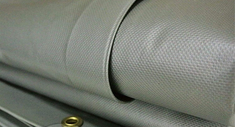 Silver 20 MIL Vinyl Long Beach Mall TARP Extreme Max 61% OFF Seam Heavy PVC Duty Heat