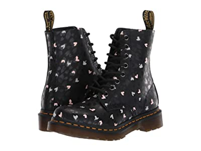 Dr. Martens 1460 Pascal Wild Heart (Black/Multi) Women