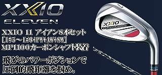 DUNLOP(ダンロップ) XXIO 11 ゼクシオ11 ゼクシオ イレブン アイアン 8本セット (番手I#5~PW+AW+SW) MP1100 カーボンシャフト メンズゴルフクラブ 右利き用 レッドカラー