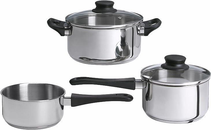 ikea marmite annons lot de 5 casseroles en acier inoxydable avec couvercle en verre pour induction