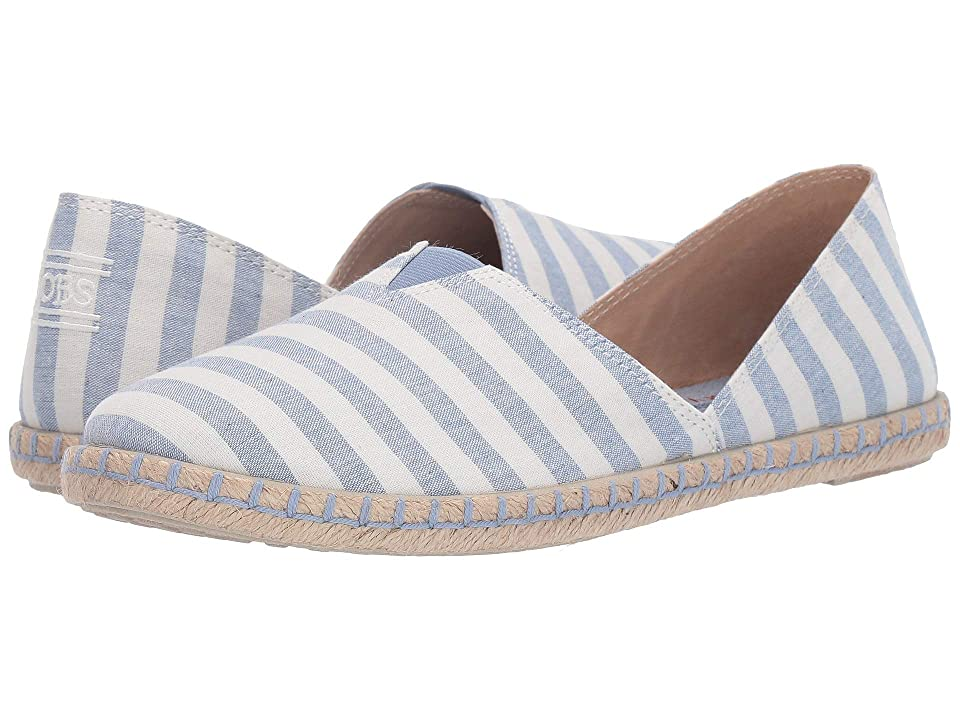 BOBS from SKECHERS Day 2 Nite First Mate (White/Blue) Women