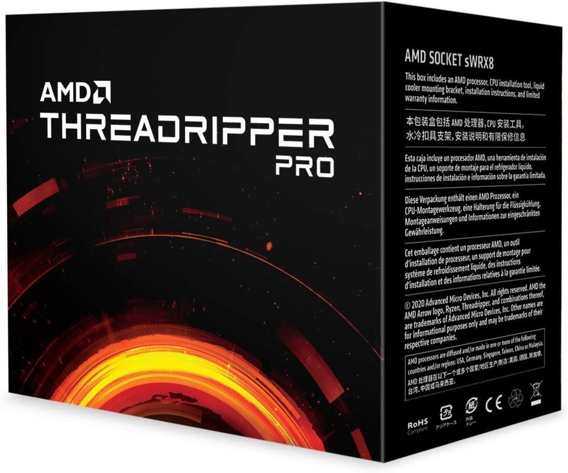 Threadripper Pro 3955WX 16C 4.2GHZ SKT SWRX8 72MB 280W WOF