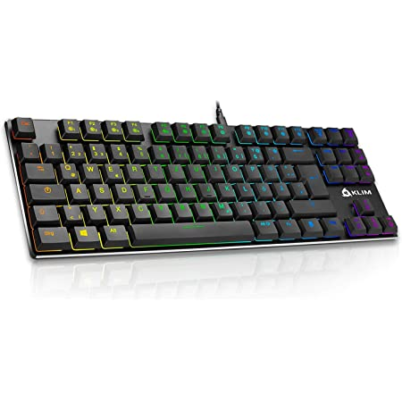 Klim Dash Tkl Mechanische Tastatur Mit Roten Computer Zubehör