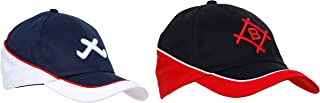 OJASS Embroidered 3D Cap (Pack of 2)-Free Size