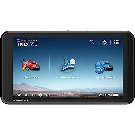 Amazon Com Rand Mcnally 7pro Overdryve 7 Pro Truck Navigation With 7 Display Bluetooth Siriusxm
