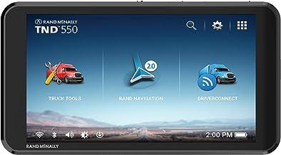"""Rand McNally TND550 GPS para camión con pantalla de 5"""" y puntos de interés específicos para camiones"""
