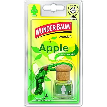 Wunder Baum 461207 4 Lufterfrischer 4 Er Set Duftflakon Apple Auto