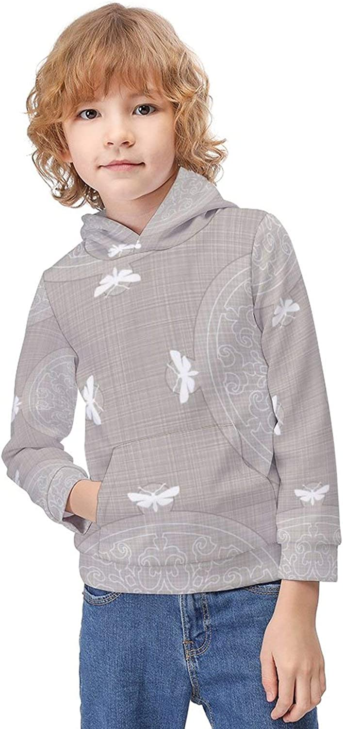Girls Premium Long Sleeve Pullover Hoodie Printed Outdoor Pullover for Kids