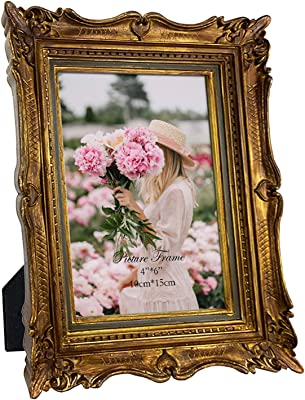 Amazon Com Giftgarden 5 X7 Vintage Picture Frame Friends Gifts For Photo Or Print 5x7 Inch