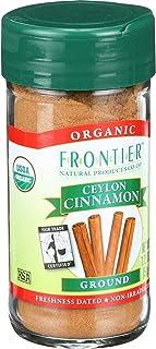 Frontier Herb Cinnamon - Organic - Fair Trade Certified - Ground - Ceylon - 1.76 oz