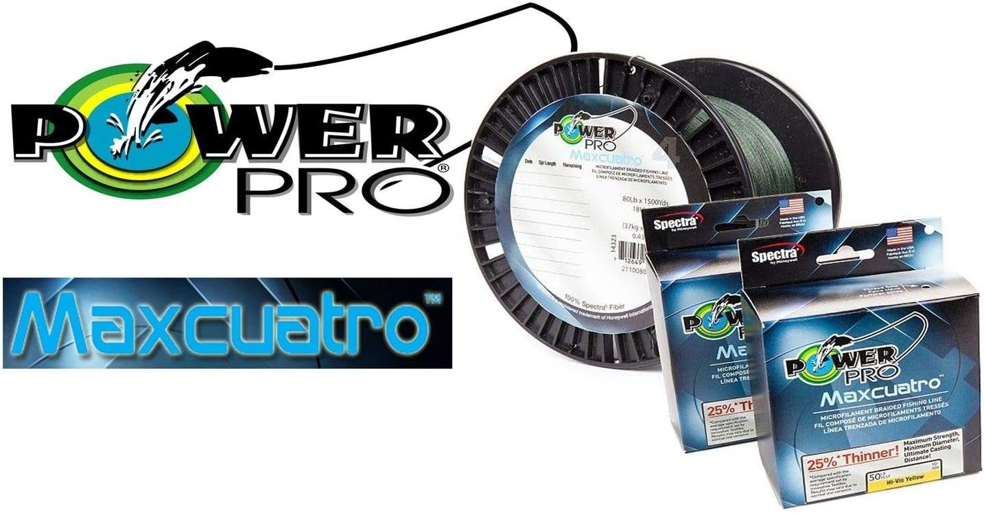Manufacturer OFFicial shop Power Pro Maxcuatro 33400400300E Braided 40 Lb 300 L Popular overseas Fishing yd.