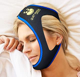 Anti Snoring Chin Strap - Most Effective Snoring Solution and Anti Snoring Devices - Snoring Chin Strap - Stop Snoring Sleep Aid for Men and Women [Upgraded Version]