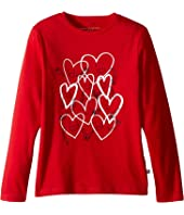 Stella McCartney Kids - Bella Hearts Long Sleeve Tee (Toddler/Little Kids/Big Kids)