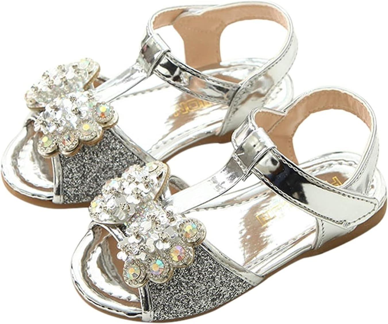 Elegant Sale price New Girl Baby Sandals Sequin San Little Rhinestone Princess