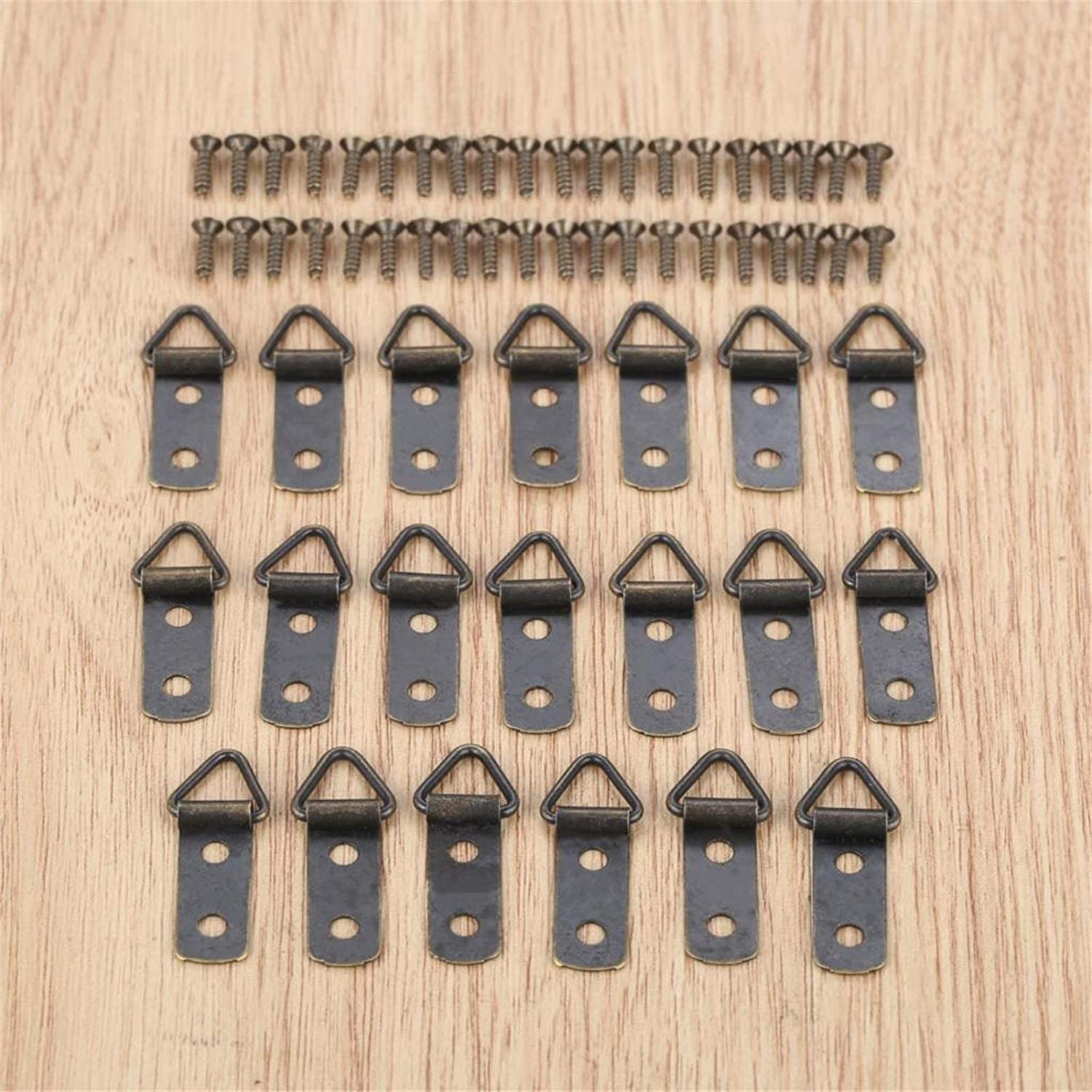 ANYUFEI 5 20Pcs Zinc Alloy D-Ring Oil Luxury Pain Hanging Limited time trial price Photo Picture